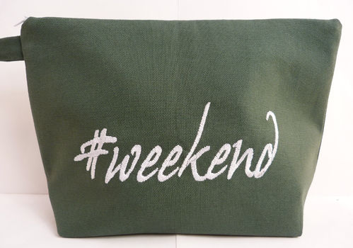 Tasche WEEKEND Canvas tanne