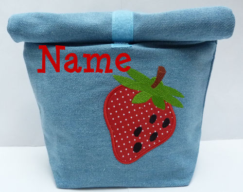 LunchBAG ERDBEERE Denim